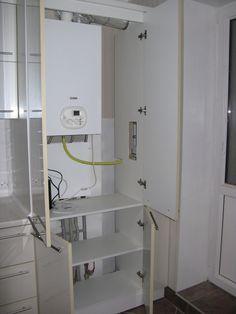 Проект кухни с газовым котлом