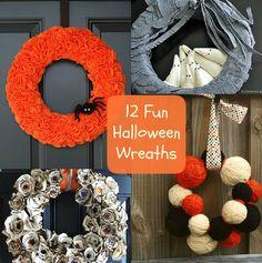 12 Cute Halloween Wreaths to Make
