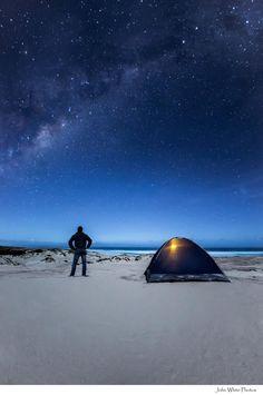 There's nothing like the starry night skies of Australia - John White Photos — at Sleaford Bay, South Australia.