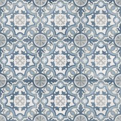 The Bondi Patterned Tile is a modern take on encaustic tiles that were developed over ten centuries ago. It's porcelain construction makes it an excellent choice for any area in your home. Mirror Tiles, Bathroom Floor Tiles, Wall Tiles, Bathroom Plans, House Tiles, Engineered Timber Flooring, Retro Vintage, Mediterranean Tile, Encaustic Tile