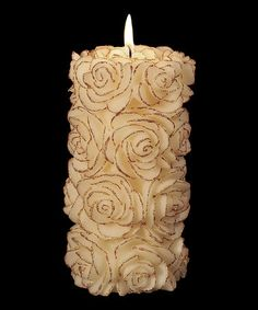 This Queenly 6'' Pillar Candle by Volcanica Candles is perfect! #zulilyfinds