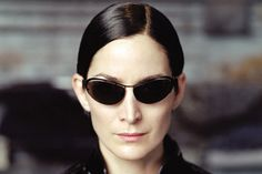 Trinity - Movies: The Matrix TrilogyActor: Carrie-Anne Moss Kelly Mcgillis, Francoise Hardy, Matrix Sunglasses, Cat Eye Sunglasses, Ray Ban Wayfarer, Diane Keaton, Diana Ross, Kate Hudson, Tom Cruise