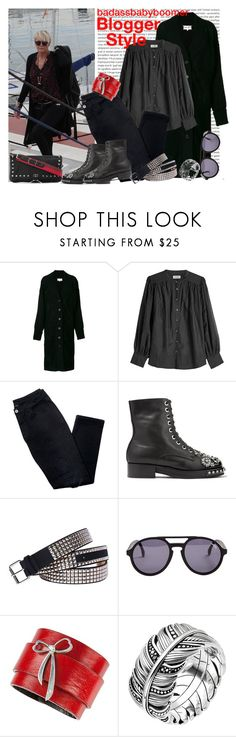 """Blogger Style (Please Read)"" by badassbabyboomer ❤ liked on Polyvore featuring Oris, Maison Margiela, Zadig & Voltaire, Avon, N°21, Fantas-Eyes, Carrera y Carrera and Thomas Sabo"