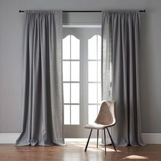 Product Description Included: 1 Panel(s) Sheer Curtain Top Processing Way : Grommet or Hook or Rod Pocket Curtain Length: 63 Inch Curtain Width: 50 Inch Fabric Content: Cotton/Linen Care: Machine Wash, Cold Size: We have Size if you need ot Room Makeover, Living Room Colors, Living Room Decor Curtains, Curtains Living, Living Room Makeover, Modern Living Room, Trendy Living Rooms, Grey Curtains Living Room, Living Room Grey