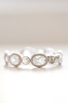 This is labeled a promise ring, but I think it would make a lovely engagement ring for the nontraditional sort.
