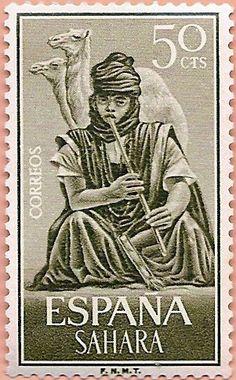 Sello Sáhara Español - Portal Fuenterrebollo