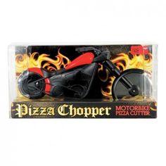Pizza-Chopper-Pizzaschneider-Motorrad-Cutter-Messer-Schneider-Pizzaroller-Roller