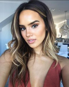 Blonde Wigs Lace Frontal Little Girl With Lace Front Wig - Cabello Rubio Brown Ombre Hair, Brown Hair Balayage, Ombre Hair Color, Hair Day, Dark Hair, Hair Looks, Hair Trends, Hair Inspiration, Short Hair Styles