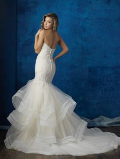 allure bridals 9364 abito da sposa Sweetheart Wedding Dress 22cd9bf449d