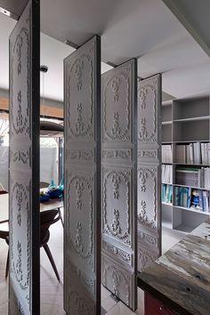 The Ganna Studio Ornate pivot wall