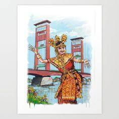 Traditional Dance Art Print