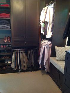 Created By Designer Elizabeth Bowman, California Closets Cleveland Ohio.
