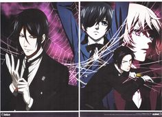 Black Butler (Kuroshitsuji in Japanese) is a shounen manga and companion anime series (although it's pretty obviously looking for a crossover shoujo audience).
