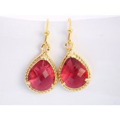 Hot Pink Earrings - Shop for Hot Pink Earrings on Polyvore