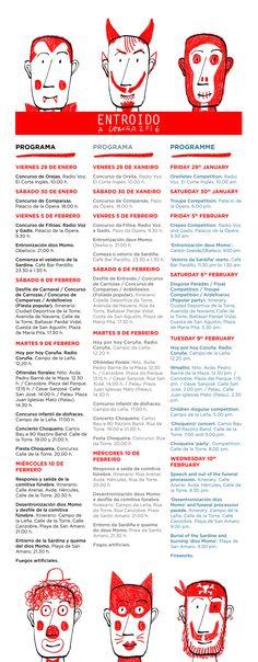 ¡A #Coruña xa está a celebrar o seu #Entroido máis irreverente! Esta próxima fin de semana estará chea de actividades.  #Entroido #visitaCoruña #saboreaCoruña #Galicia #festas #gastronomía #disfraces #comparsas