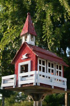 Bird house...By: novemberwolf