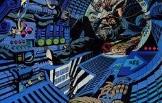 Steranko's adaptation of Outland is a masterclass in visual storytelling. Jim Steranko, Metal Magazine, Book Cover Art, Book Art, Sean Connery, Book Show, Sci Fi Fantasy, A Comics, Conceptual Art