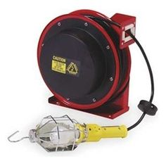 Designcord Auto Rewind Extension Cord Reel 20 Ft 16 3
