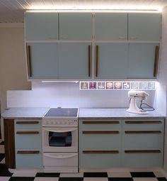 50-luvun keittiökaapin ovet