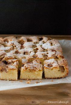 Łatwe ciasto z rabarbarem Easy rhubarb cake