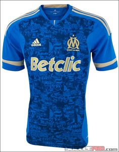 adidas Marseille Away Jersey 2011-2012...$67.49