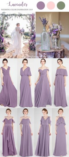 lavender wedding ideas with bridesmaid dresses 2019  wedding   weddinginspiration  bridesmaids  bridesmaiddress   ceaa2a4b3187