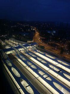 Arnhem Central Platforms in Arnhem, The Netherlands by UNStudio