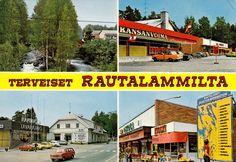 Kuva: RAUTALAMPI.  Tuonti  RL 002   Foto: Dino Sassi. Vintage Postcards, Album, Finland, Vintage Travel Postcards