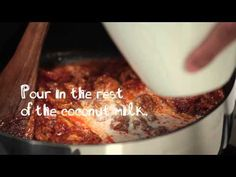 Asian Food Lovers recipe: Panang curry - YouTube