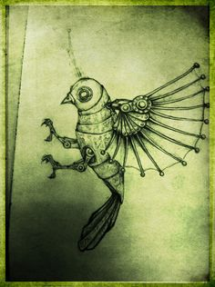 Clockwork bird