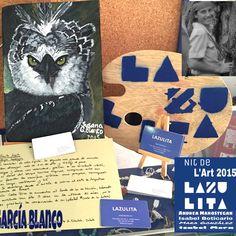 """LazulitaRT Gallery ❗️ SusanaGarcíaBlanco , """"Águila Arpía"""". Nit de L'Art 2015❗️"""
