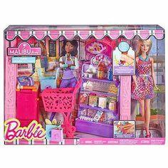 Barbie Market Shop With Doll - Walmart.com