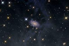 83 отметок «Нравится», 1 комментариев — Linda's Favourite (@lindasfavourites) в Instagram: «Art and Science in NGC 918 #science  #space #photooftheday #like4like #bestoftheday #earth…»