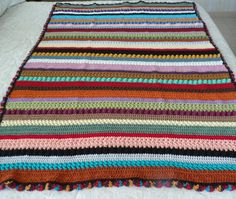 Jupiter's Beauty Crocheted Afghan by OneCreativeFamily on Etsy