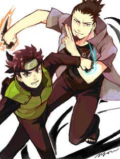 Shikamaru and Mirai