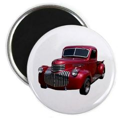 1946 Pickup Truck Magnet #magnets #gifts