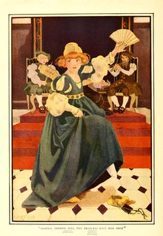 Florence Choate / Stoke's wonder book of Mother Goose