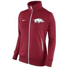 Arkansas Razorbacks Nike Womens MVP Track Jacket – Cardinal