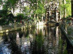 The Medici Fountain - Paris, France