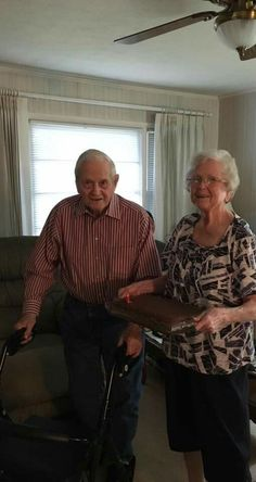 Alan and Betty Stowe 2016