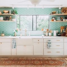 """3,582 Likes, 39 Comments - Fireclay Tile (@fireclaytile) on Instagram: """"Hawaii-based photographer + blogger @elanaloo invokes the islands' tropical palette with her…"""""""