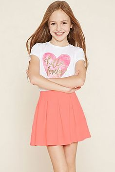 Girls Pleated Skirt (Kids)