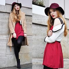 SHADES OF RED (by Sally D) http://lookbook.nu/look/4468259-SHADES-OF-RED