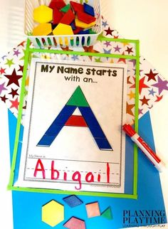 Name Writing Worksheets for Preschool - Name Activities and Printables #preschoolworksheets #nameworksheets #preschoolprintables #nametracing #backtoschool #planningplaytime Name Activities Preschool, Name Writing Activities, Numbers Preschool, Preschool Worksheets, Name Tracing Worksheets, Writing Worksheets, Back To School Worksheets, Name Puzzle, Teaching Letters