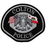 Colton, CA police patch