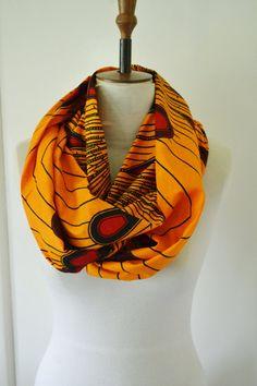 African Wax Tribal Peacock Print Ankara Cotton by naomianagu, £19.99