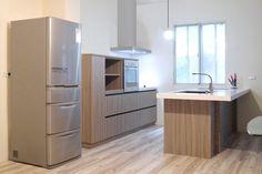 原木質感櫥櫃與設計/系統櫥櫃