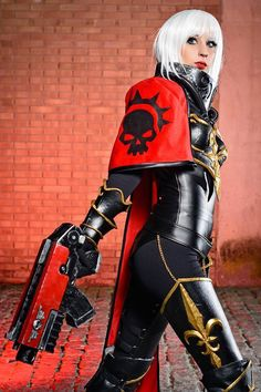 Sister of the Battle from Warhammer 40k Cosplayer: Illisia Cosplay and…