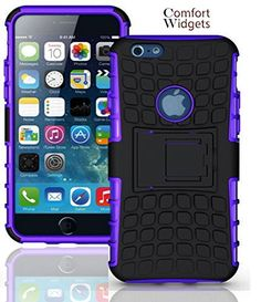 iPhone 6 Case Shock Resistant Cover - Armor Case Dual Layer 2 in 1 Rugged Hybrid Hard/Soft Drop Impact Resistant Protective Case with Kickstand - Apple iPhone 6 4.7 Inch Case - Heavy Duty Shock Absorbing Durable Case Cover with Stand by Comfort Widgets(TM) (Purple) Comfort Widgets http://www.amazon.com/dp/B00TEYYV7G/ref=cm_sw_r_pi_dp_Rz8Bvb1WGSVC7