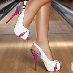 White Sexy Heels - http://ikuzoladyshoes.com/white-sexy-heels/